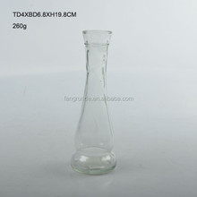 smooth & fine tall top grade Glass Flower Vase