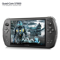 "7"" Quad Core Game Console Player tablet pc S7800B gamepad Android 4.4.4 2G RAM 16GB 1280X800 IPS two Camera"