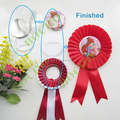 58mm DIY badge rosette