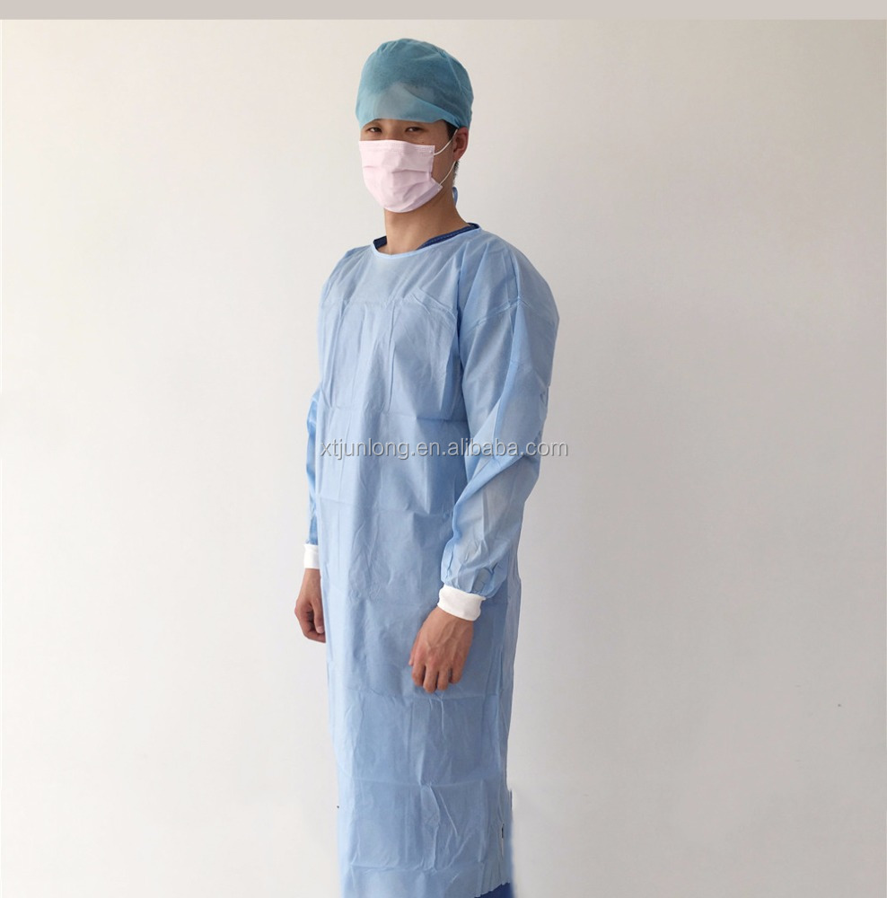 High protective sterilized disposable surgical gown