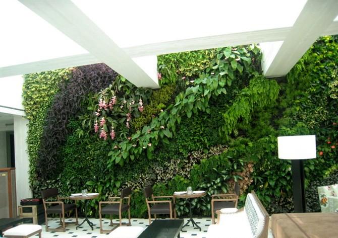 artificielle plante verte 2014 mural d coratif mur de. Black Bedroom Furniture Sets. Home Design Ideas