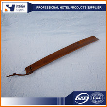 China supplier wholesale custom long wood shoe horn