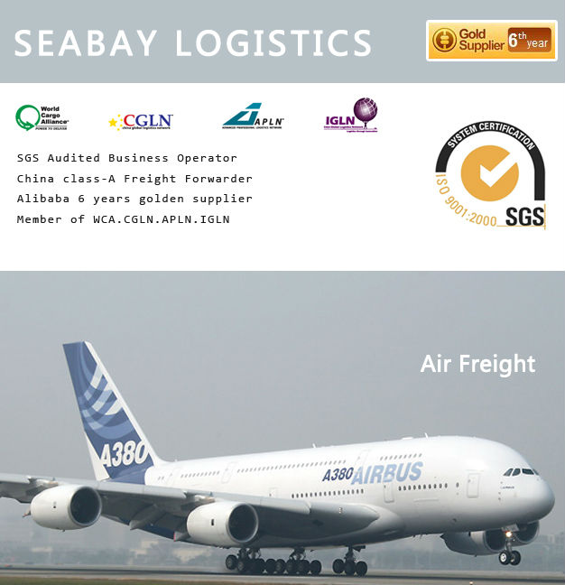 Professional quick air freight cargo transport forwarder to the usa