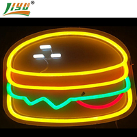 Outdoor waterproof led pizza letter neon sign for shop decoration, #Shanghai Liyu-12V-PizSign