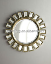 Latest hign quality sun shaped venetian decorative wall mirror