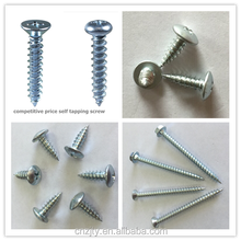 phillips truss head self tapping screws for wood and aluminum