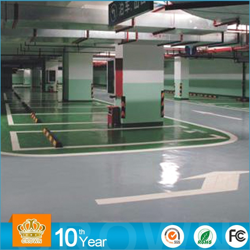 Oil Based Scratch Resistant car parking floor paint epoxy