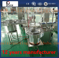 Electric liquid filler High accuracy Small Dose Electronic Cigarette Oil fillng sealing machine