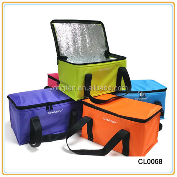 Frozen Insulated Cooler Bag Zipper Lunch Cooler Bag Keep Warm And Cold