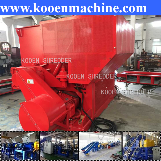 used waste car truck battery crusher