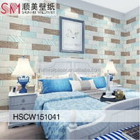 Hot Sales Home Decoration Design Waterproof Project Cheap Vinyl Wallpaper