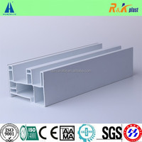 zhejiang european style colorful Co extrusion Pvc profiles for Plastic windows and doors