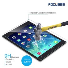 Hot sell Top Quality 2.5D Curved 9H Hardness Shatter Proof For ipad 2/3/4 tempered glass screen protector free sample