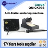 China supply quick 936 antistatic hot air soldering station for mobile phone repair