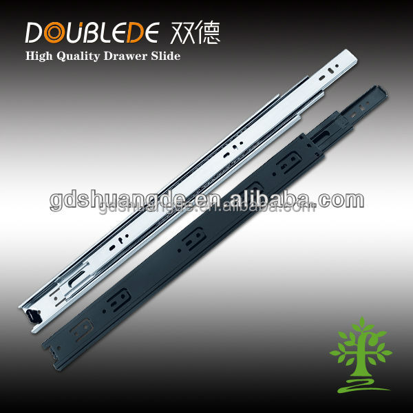 45mm 3 fold dongyang Hardware Drawer Slide/ Electrical Drawer Slides/Ball Bearing Drawer Slide