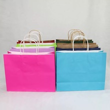 alibaba express wholesale custom color printing decorative handmade paper gift bags/make decorative paper bags