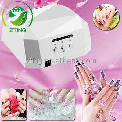 Wholesale <strong>price</strong> 36w nail led uv lamp 36w diamond shape ccfl led nail lamp 36w led uv nail lamp