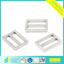 Euro style quality tri-glide metal side release luggage buckles at low price