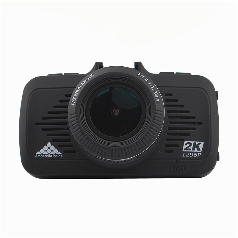 Ambarella 2.7 Inch Wide Angle Car Camera 3 in 1 dvr radar detector With GPS Speed Warning Dash Camera