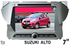 "(for SUZUKI ALTO) 7"" HD digital in-dash double din car audio player with gps,TV,radio, bluetooth, iPOD"