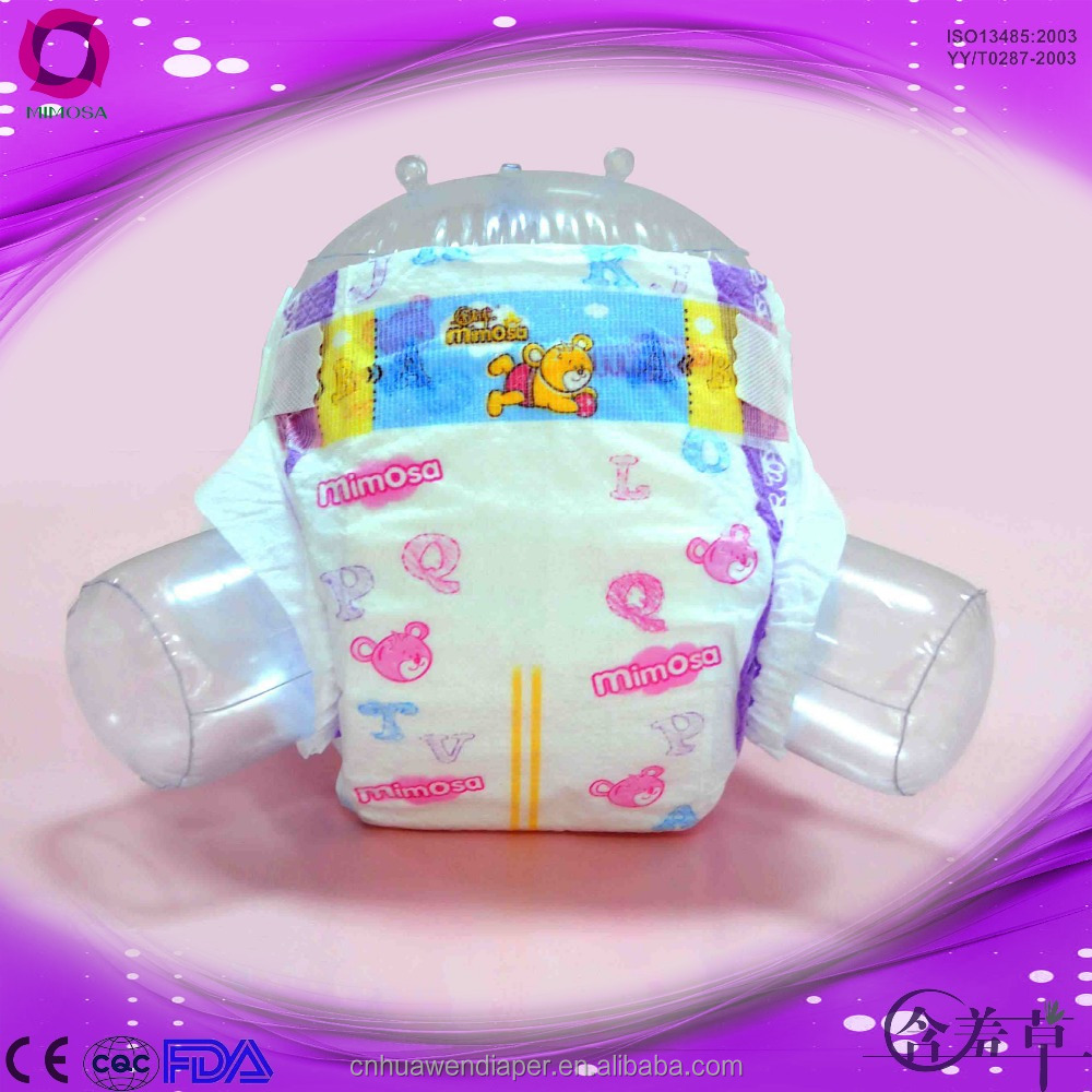 <strong>100</strong>% Natural Fiber Baby like diaper factory soft breathable