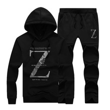 2017 trending products men's brand hoody sweater men wholesale sweat suits for cumstom OEM printing