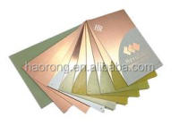 Double side copper clad laminate sheet for circuit board