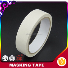 2017 Products Leave No Residual Custom Color 150mic Crepe Paper Car Painting Masking Tape