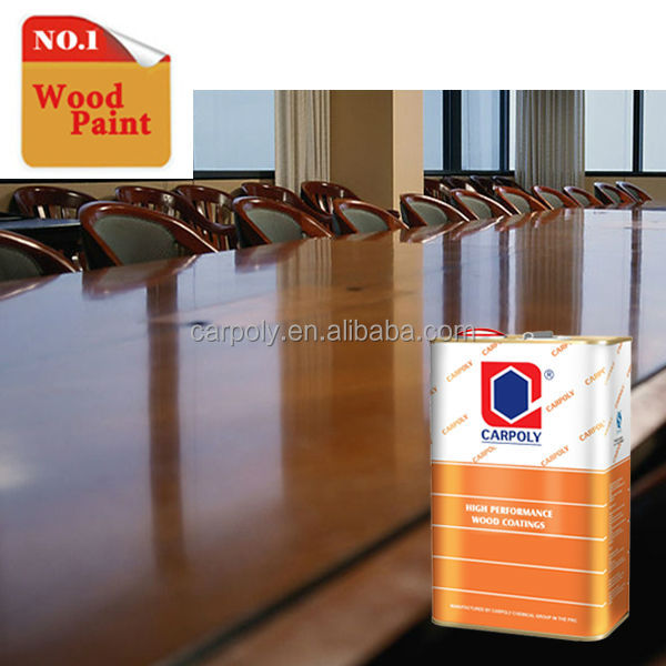 Hot Selling!!! CARPOLY High Performance High Gloss Wood Deco Paint