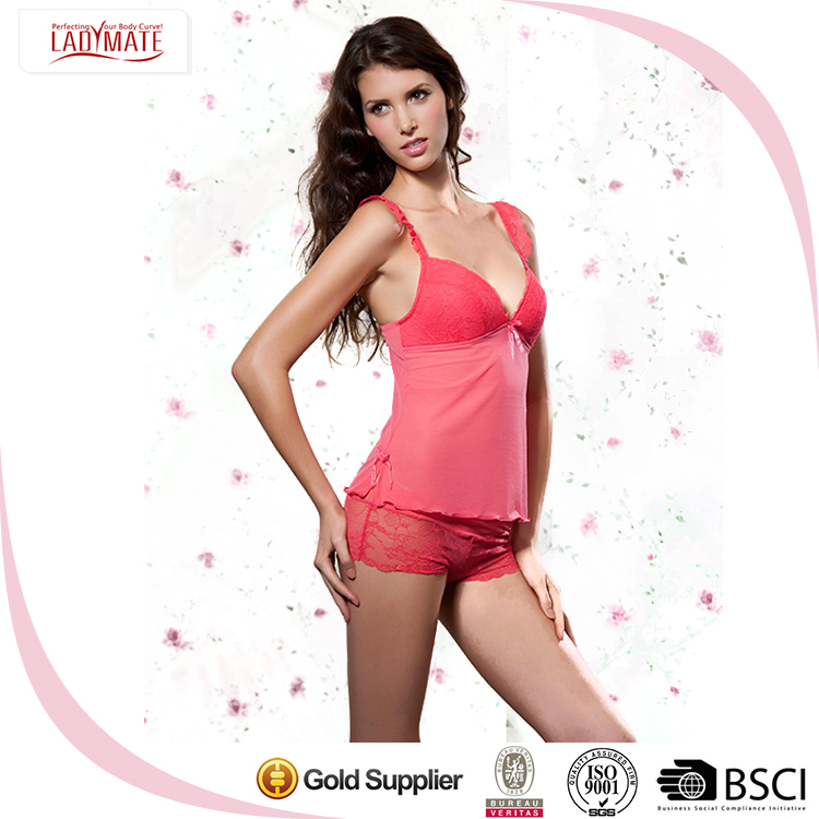 Wholesale Plus Size Cheap Nightwear Mature Sexy Sexy Transparent Lingerie Hot