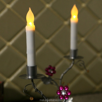 LED candle light Wax LED Flameless Candles of Christmas