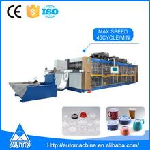 DW4-78 high-speed automatic plastic fruit container multistep thermoforming machine
