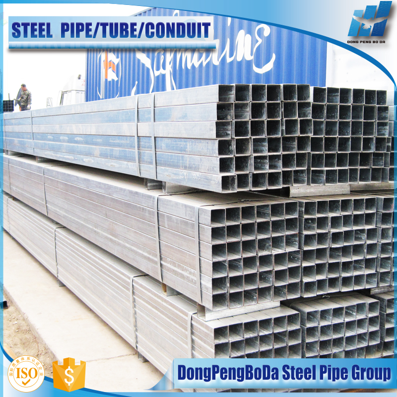 clean deburred Stable and uniform zinc layer gi hollow metal tube