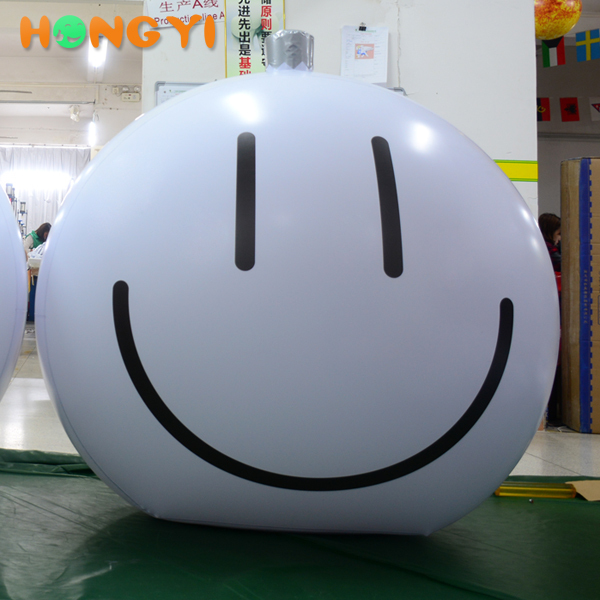 Hot inflatable PVC Smiley Face Helium Balloons