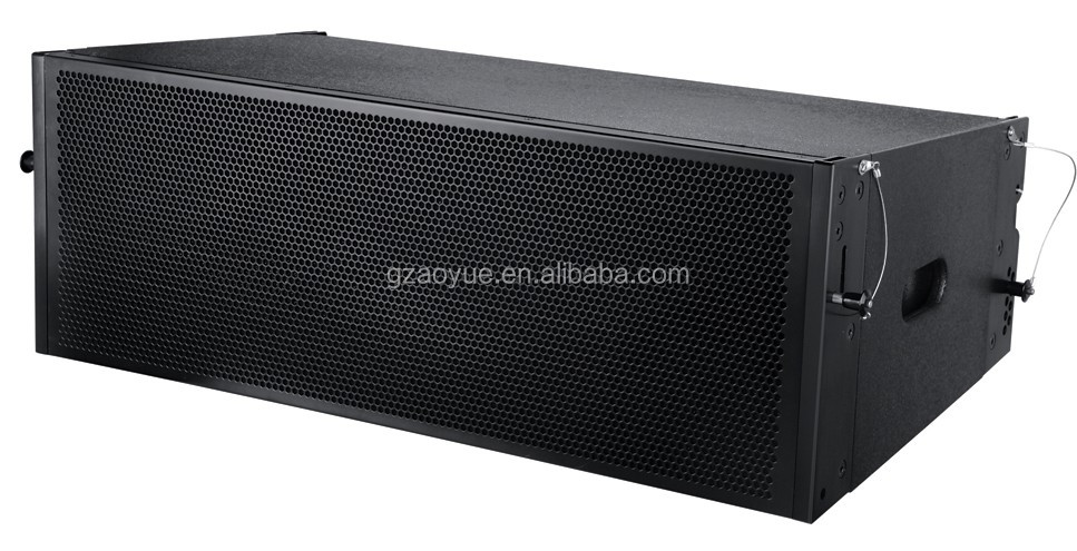 Single 12-inch two-way line array speaker system