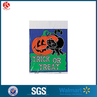 Cheap Ldpe Plastic Pumpkin Shaped Leaves Trash Bags : Package Of 3