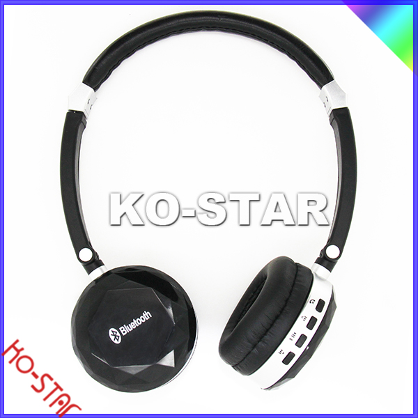 High Quality Bluetooth Stereo Wireless Soloed Headphone with Mic for Mobile Phone with original logo+box