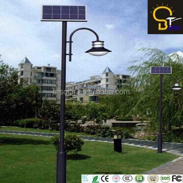 9W solar cell light for garden Supplier in China