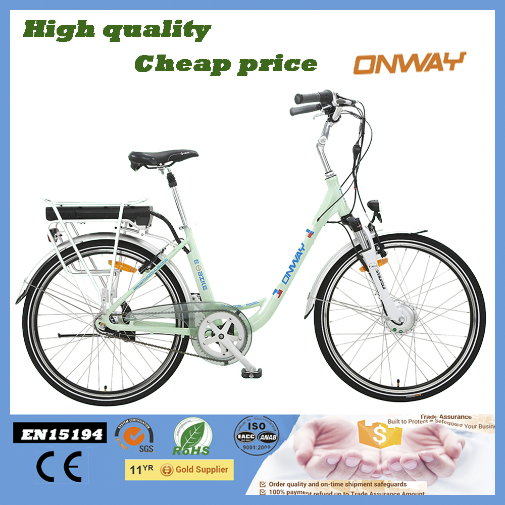 250W battery in frame electric bike 26inch with EN15194