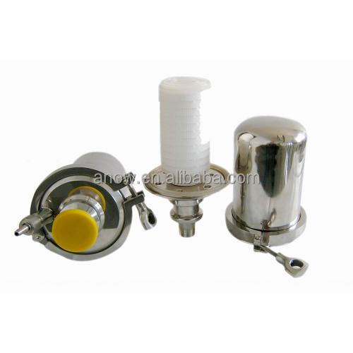 Stainless Steel Air Cleaner Housing : Stainless steel sterile tank gas air venting breather