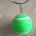 wholesale colored tennis ball key ring buying in bulk