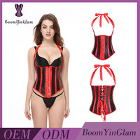 Bright Colored Pirate Label Available Waist Trimming Corsets