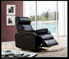 Living room furniture lazy boy chairs black leather promtion recliner armchairs