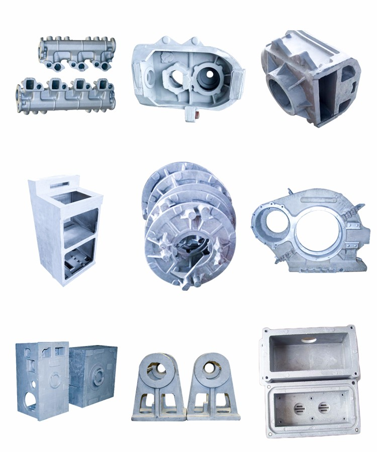 Metal Automotive Foundry Gravity Investment Aluminum Die Greensand Casting