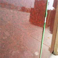 China Manufacturer Construction material stone Polished Taiwan red granite for Stairs and steps