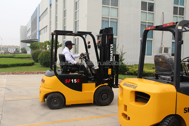 SHANTUI 2.5Ton 4-wheel electric forklift with AC motor