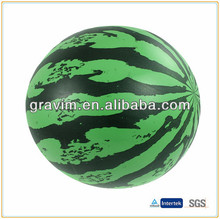 Beautiful melon toy PVC beach ball