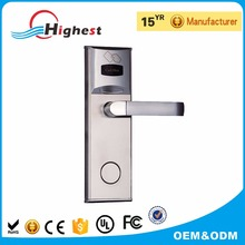 Hotel Key Card Door Lock With Key Card Lock System