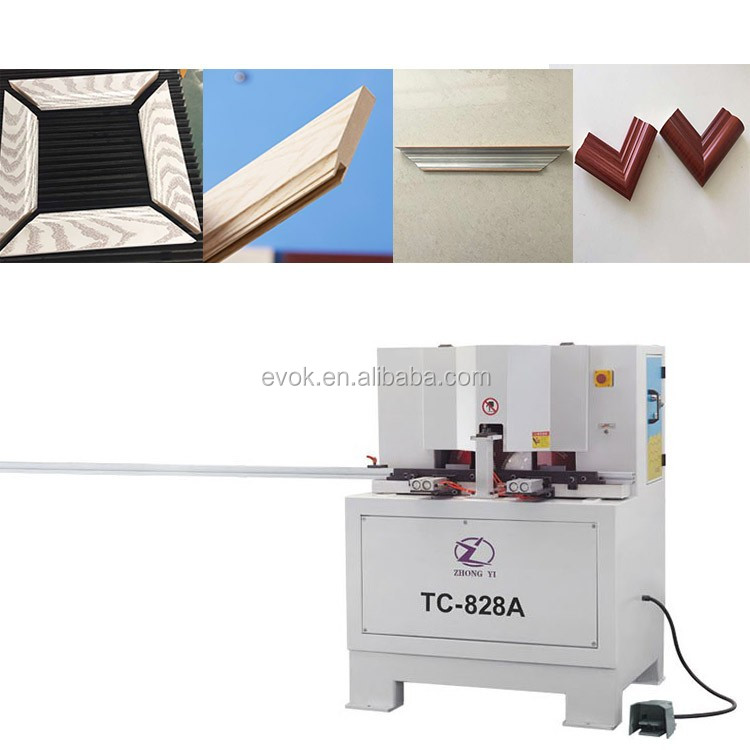 2016 Made in China aluminum picture kitchen and window photo frame cutting machine prices