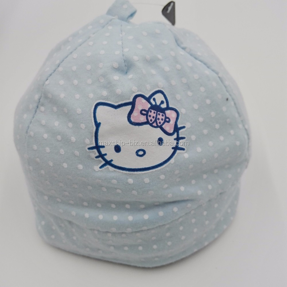 organic cotton jersey baby hat